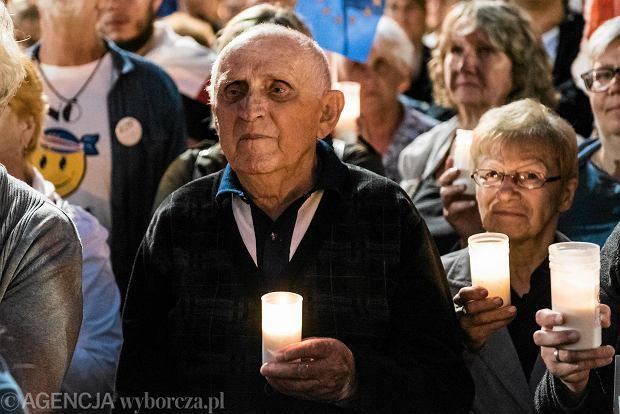 Manifestacja w obronie sądów we Wrocławiu