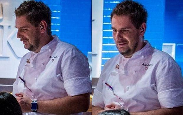 Wojciech Amaro w Hell's Kitchen