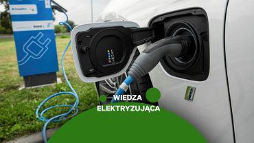 Wiedza elektryzująca, ładowanie samochodu elektrycznego