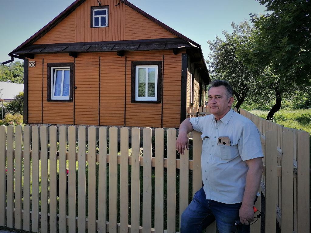 Jan Mordań jest mieszkańcem wsi Haćki na Podlasiu