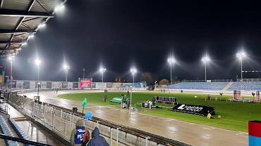 Stadion żużlowy w Lublinie podczas zawodów Speedway of Nations w 2020 r.