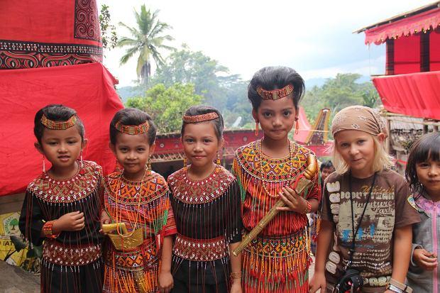 Szymon w Indonezji