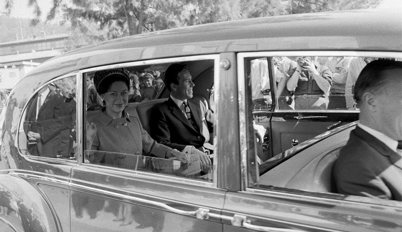 Księżniczka Małgorzata i Lord Snowdon podczas wizyty w USA w 1965 r.