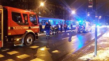 Wypadek na ul. Mogilskiej