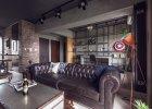 Wnętrza: industrialny apartament kawalera w Tajwanie