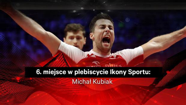 Michał Kubiak 6. w plebiscycie Ikony Sportu