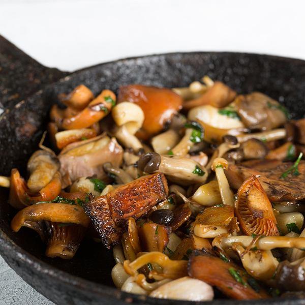 Przepisy na obiad z grzybami