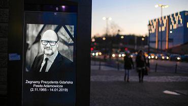 Gdańsk żegna Prezydenta Pawła Adamowicza. 14 stycznia 2018