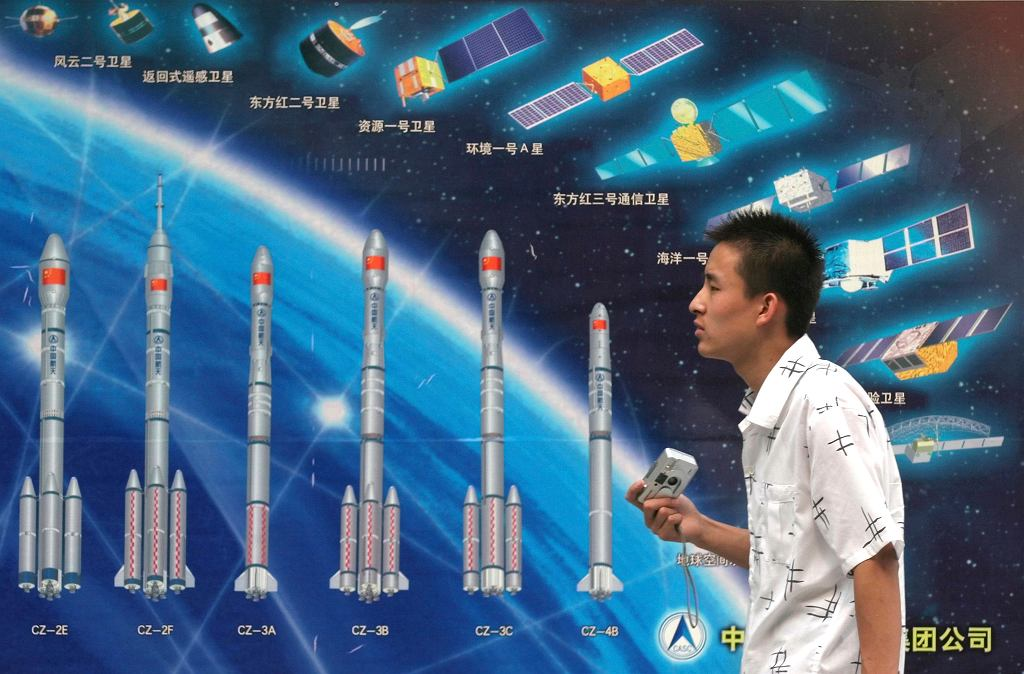 China Space Timeline