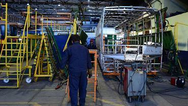 Sanok. Fabryka autobusów Autosan