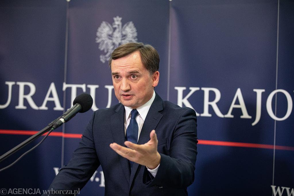 Prokurator Generalny Zbigniew Ziobro