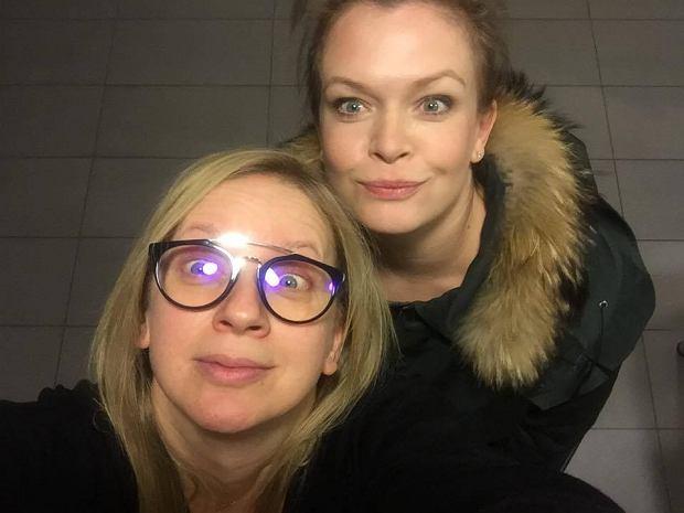 Marzena Rogalska i Daria Widawka
