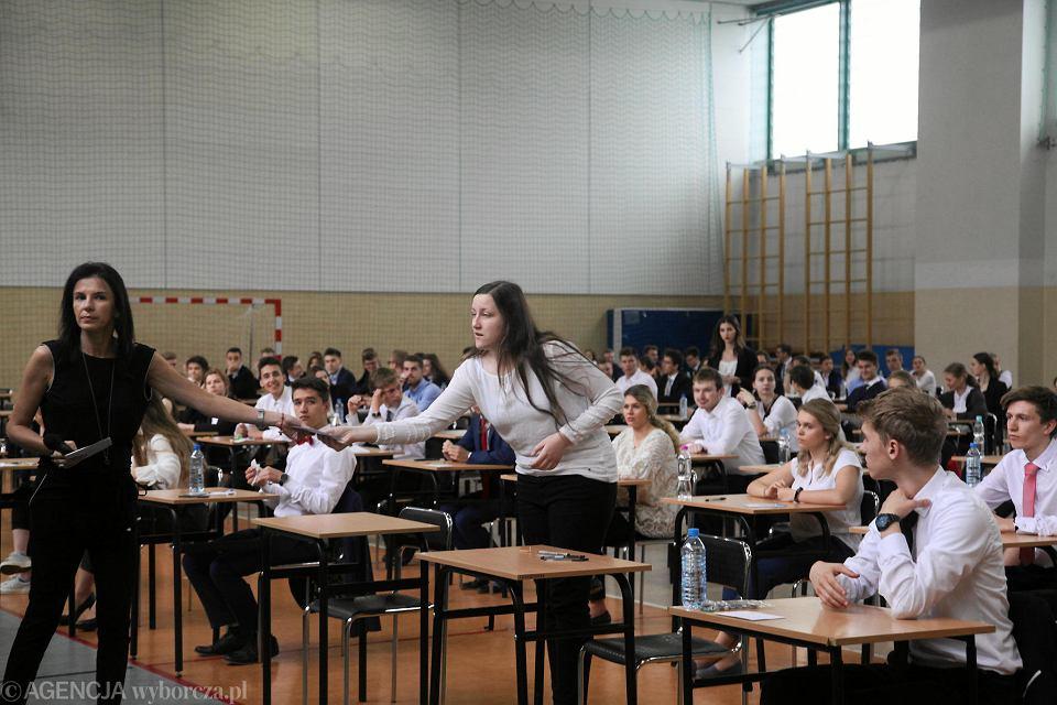 Matura 2018. Maturzyści w piątek pisali egzamin z języka polskiego