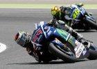 MotoGP. Lorenzo wygrał kwalifikacje, upadek Rossiego
