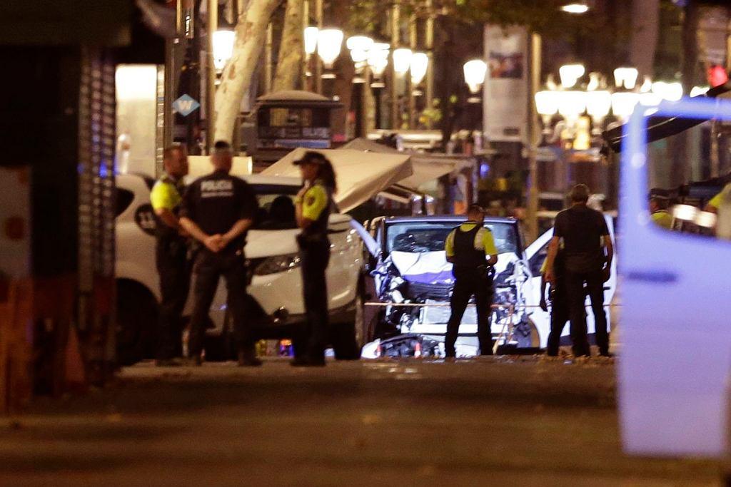 Atak w Barcelonie