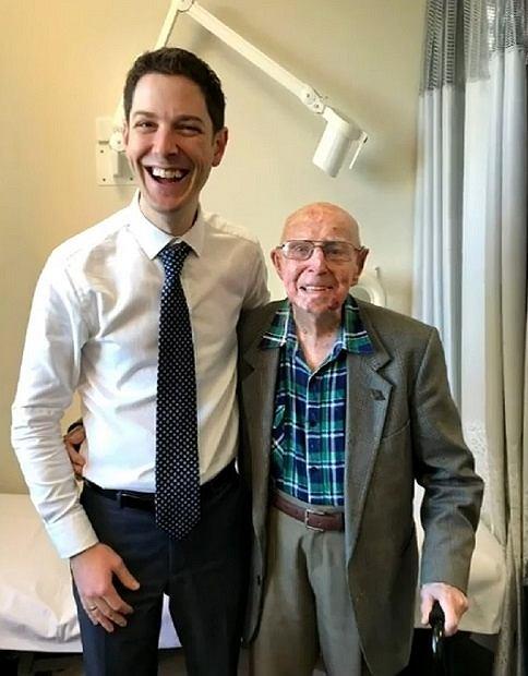 Senior pokonał raka w wieku 101 lat!
