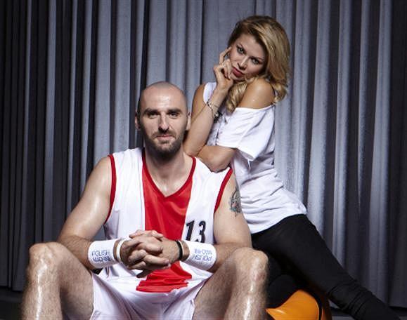 Marcin Gortat i Anna Kociuga