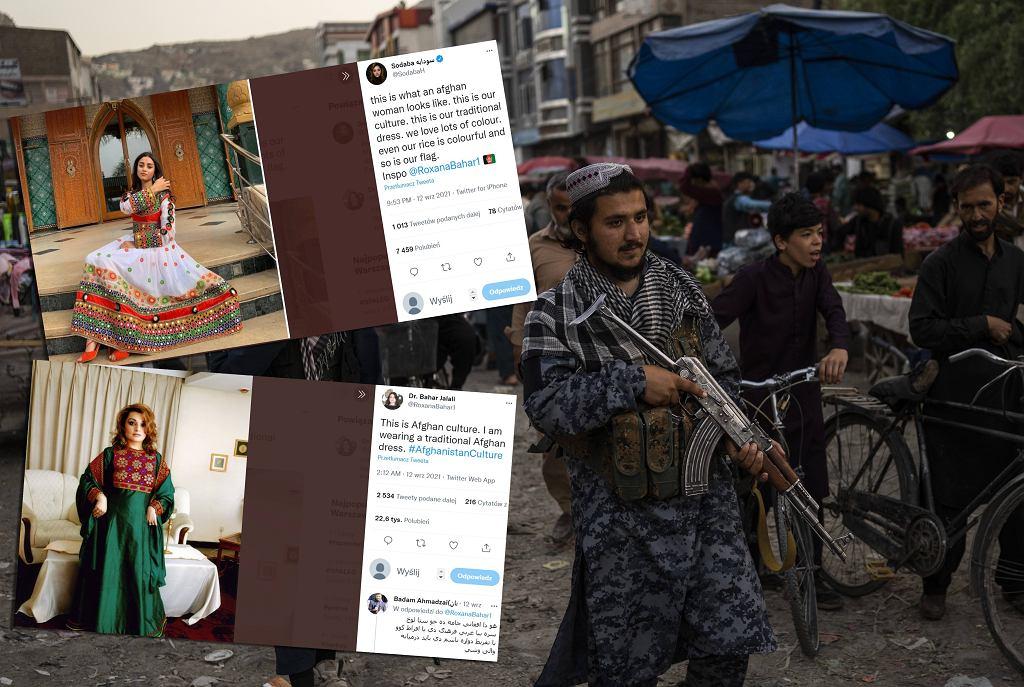 Afganistan. Kobiety sprzeciwiają się talibom strojem i hasztagiem. Kolory i hafty kontra burki