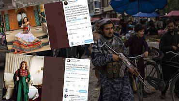 Afganki publikują zdjęcia w tradycyjnych strojach