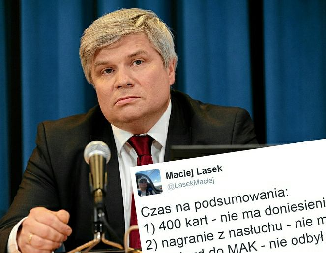 Katastrofa smoleńska. Maciej Lasek rozliczył na Twitterze działania Komisji Smoleńskiej