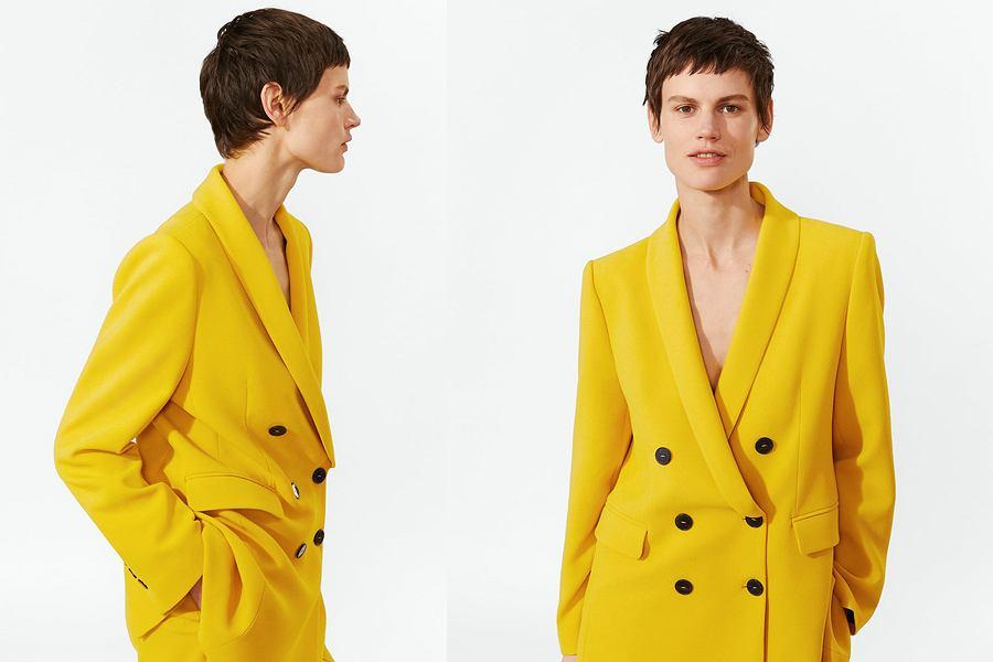 e8f2f3af831e0 Żółty garnitur ZARA hitem Instagrama | Moda i Trendy