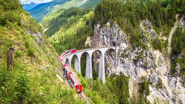 Szwajcaria: Ekspres Lodowcowy