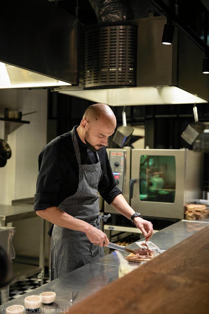 Kamil Kędzierski, szef kuchni restauracji Bocca bar i członek inicjatywy Polish Chef / DAWID ZUCHOWICZ