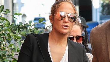 Jennifer Lopez w drodze na zakupy
