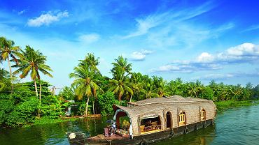 Indie - Kerala - backwaters
