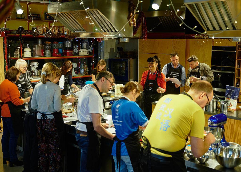 Włoskie ciasteczka, warsztaty Akademii Kulinarnej Whirlpool i magazynu Kuchnia