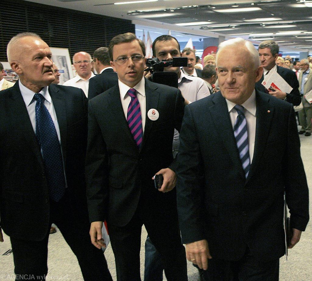Dariusz Joński i Leszek Miller