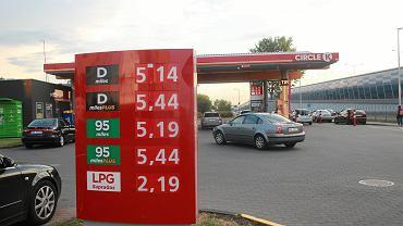 Inflacja w górę przez ceny paliw. Zdjęcie z 23 maja, Warszawa