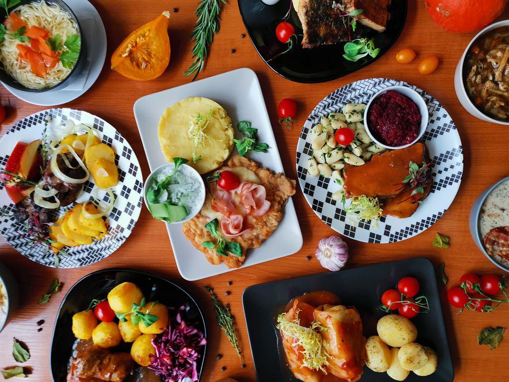 Materiały restauracji Domowe Przysmaki