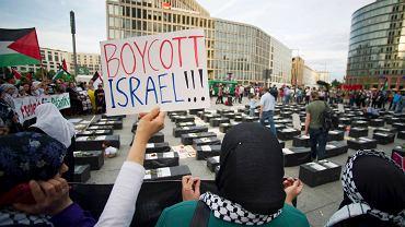 Protesty antyizraelskie w Niemczech, Berlin