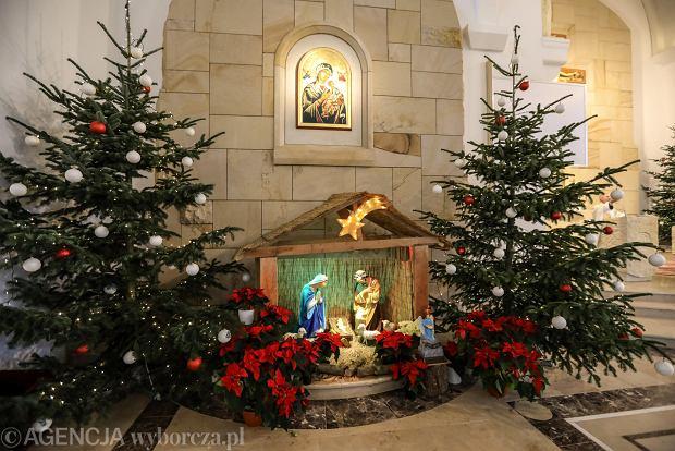 Zdjęcie numer 1 w galerii - Jezusek w skromnej stajence. Zobacz, jak wyglądają szopki w kieleckich kościołach [ZDJĘCIA]