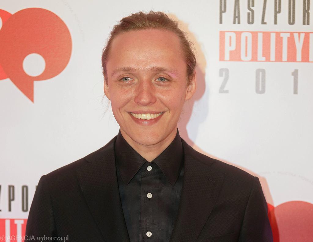 Bartosz Bielenia podczas gali Paszporty Polityki 2019 w Warszawie