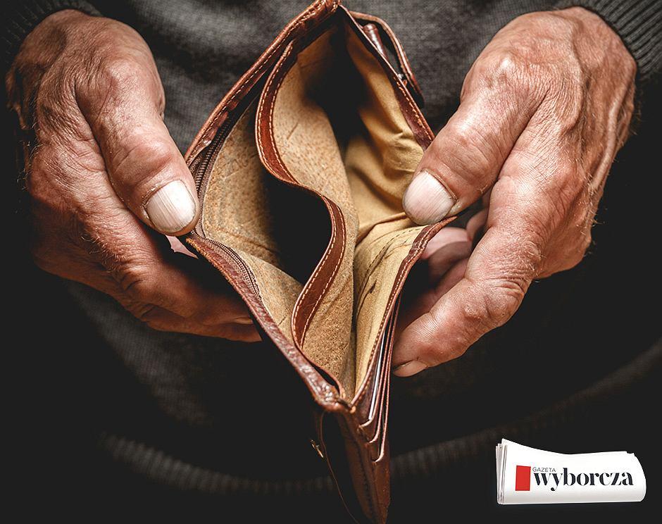 Zadłużony emeryt