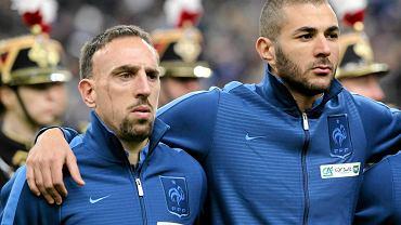 Franck Ribery i Karim Benzema