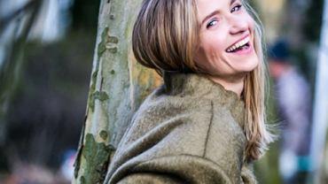 Joanna Koroniewska w zimowej stylizacji