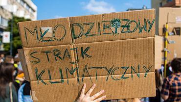 Młodzieżowy Strajk Klimatyczny / zdjęcie ilustracyjne