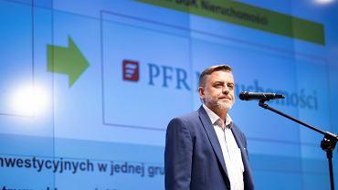 Mirosław Barszcz, prezes PFR Nieruchomości, zarządzającego komercyjną częścią rządowego programu 'Mieszkanie plus'