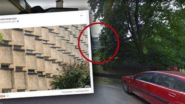 Blok przy Koziej 9 w Warszawie