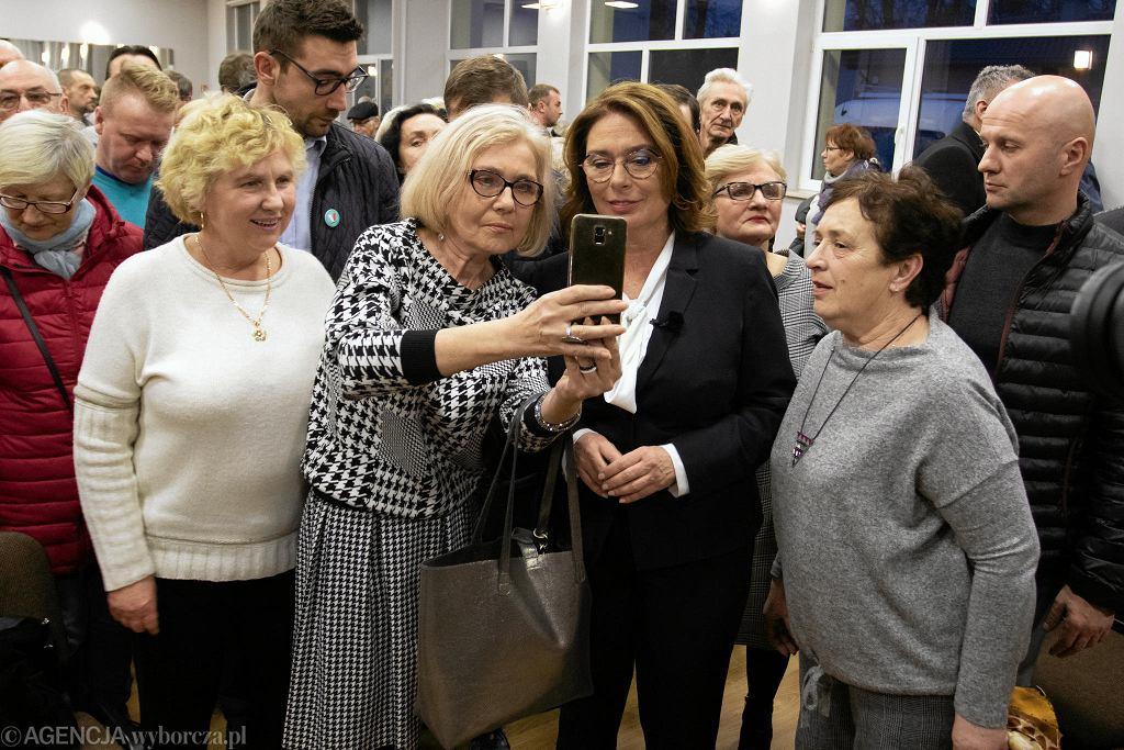 Wybory prezydenckie 2020. Spotkanie Małgorzaty Kidawy-Błońskiej z wyborcami w Nakle nad Notecią.