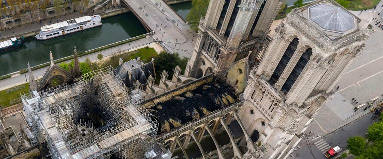 Francuscy śledczy ustalili wstępną przyczynę pożaru katedry Notre Dame