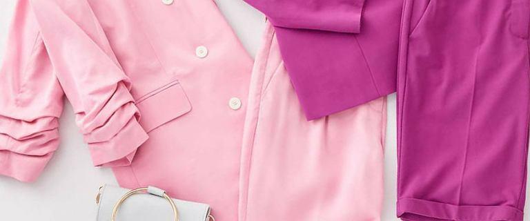 Modne garnitury do pracy, w których się zakochasz! My uwielbiamy pastelowy z Mohito
