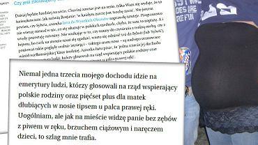 Komentarz Kamila Fejfera do listu czytelniczki 'Wysokich Obcasów'