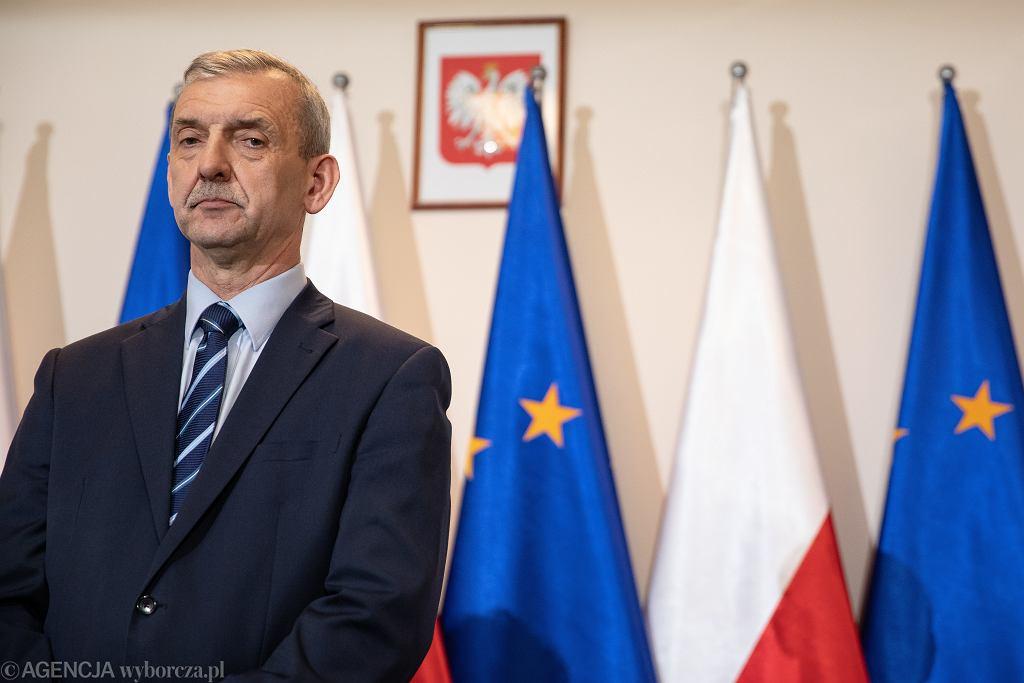 Sławomir Broniarz w Centrum Partnerstwa Społecznego '' Dialog ''