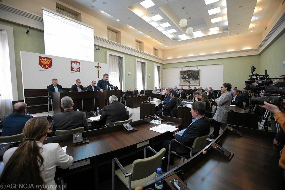 Sesja Rady Miasta w Kielcach