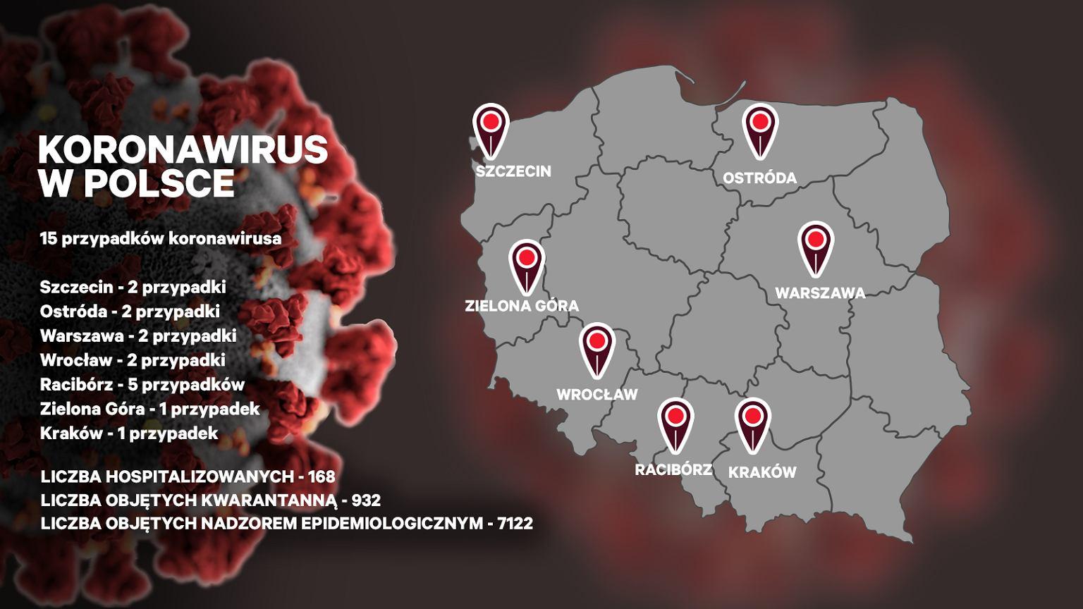 15 Przypadek Koronawirusa Wykryty W Raciborzu Gdzie W Polsce