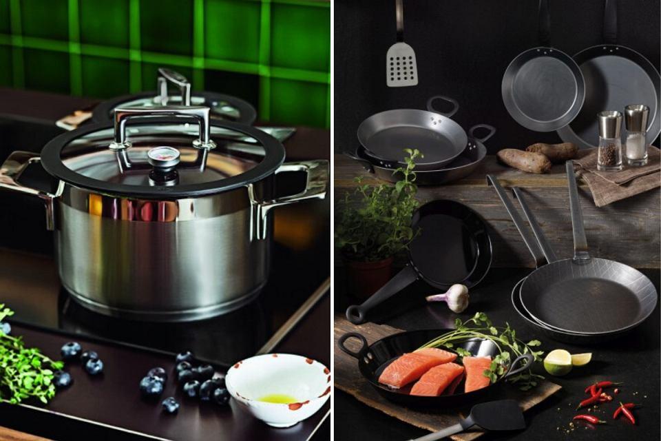 Naczynia kuchenne od marki Rösle.